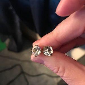 CZ stud earrings from Chloe & Isabel
